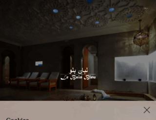 lebainbleu.com screenshot