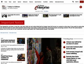 lebanonenterprise.com screenshot