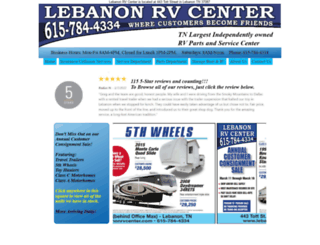 lebanonrvcenter.com screenshot