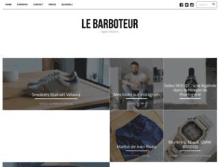 lebarboteur.com screenshot