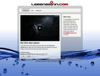 lebenssinn.com screenshot