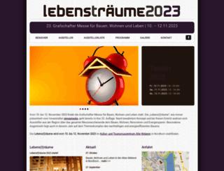 lebenstraeume-grafschaft.de screenshot