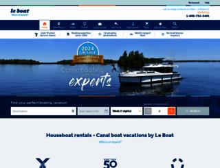 leboat.com screenshot