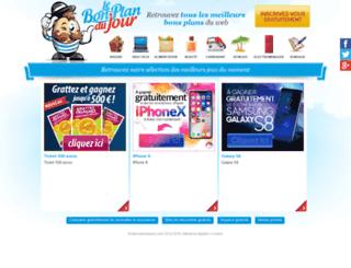 lebonplandujour.com screenshot
