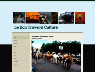 lebontravel-culture.com screenshot