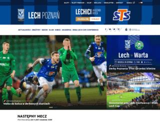 lech.poznan.pl screenshot