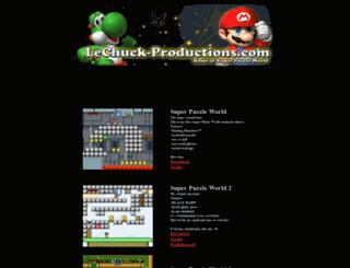 lechuck-productions.com screenshot