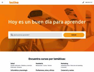 lectiva.com screenshot
