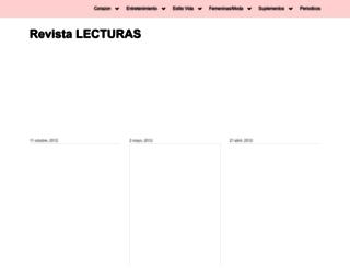 lecturas.irevista.es screenshot