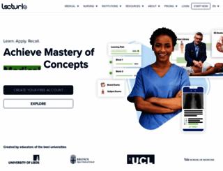 lecturio.com screenshot