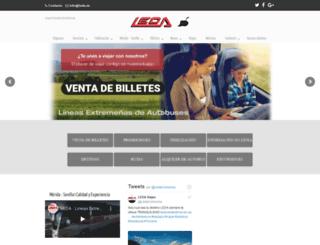 leda.es screenshot