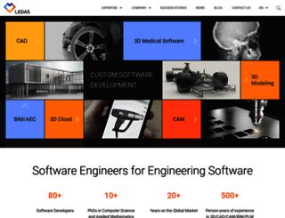 ledas.com screenshot