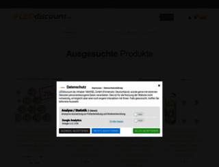 leddiscount.de screenshot