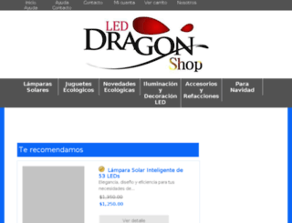 leddragonshop.com screenshot