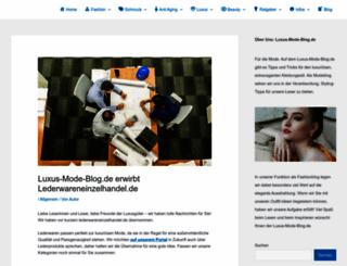 lederwareneinzelhandel.de screenshot