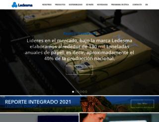 ledesma.com.ar screenshot