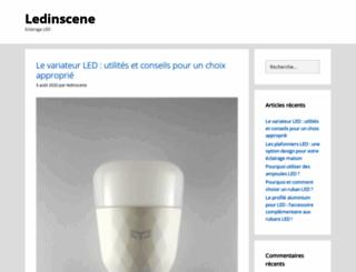 ledinscene.fr screenshot