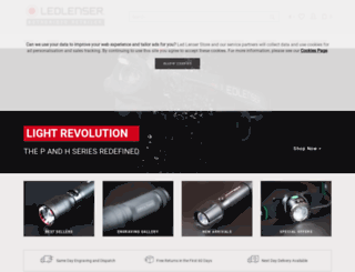 ledlenser-store.co.uk screenshot