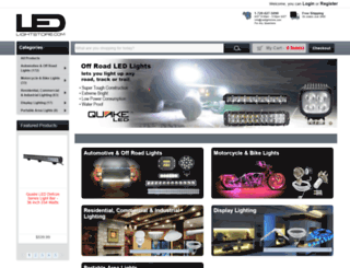 ledlightstore.com screenshot