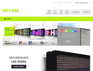 lednsign.com screenshot