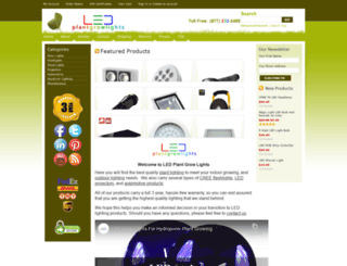 ledplantgrowlights.net screenshot