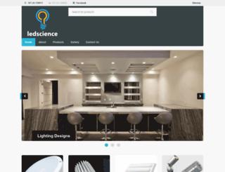 ledscience.eu screenshot