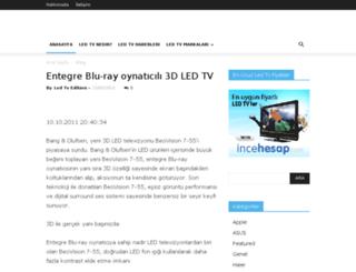 ledtvfiyatlari.net screenshot