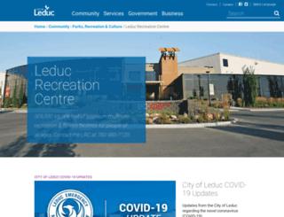 leducleisure.com screenshot