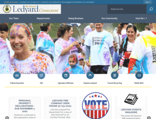 ledyardct.org screenshot