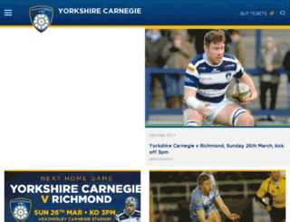 leedscarnegie.co.uk screenshot