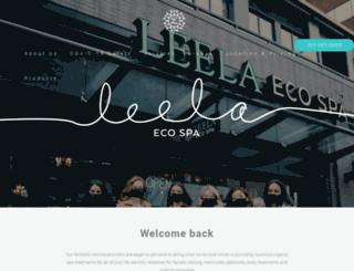 leelaecospa.ca screenshot
