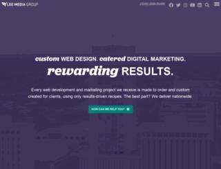 leemediagroup.com screenshot