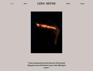leenheyne.nl screenshot