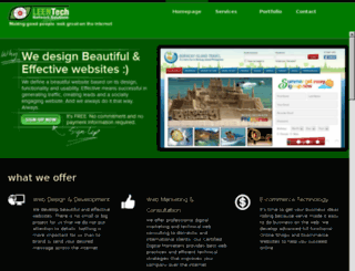 leentechwebdesign.com screenshot