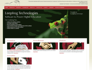 leepfrog.com screenshot