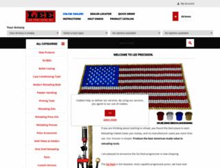 leeprecision.com screenshot