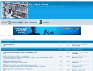 leer-y-charlar.foroespana.com screenshot