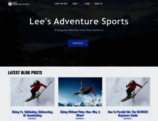 leesadventuresports.com screenshot