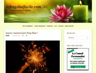 lefengshuifacile.com screenshot