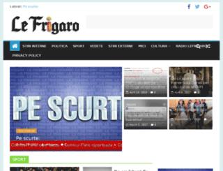 lefrigaro.ro screenshot