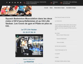 lefronton.com screenshot