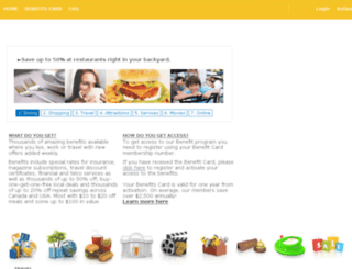 legacy222.thebenefitclub.com screenshot