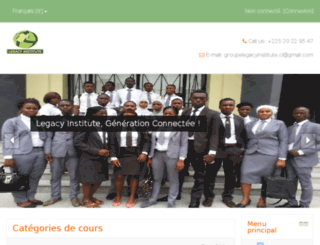 legacyinstitute-ci.org screenshot