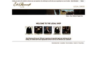 legal.edeandravenscroft.co.uk screenshot