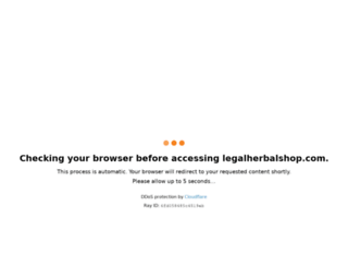 legalherbalshop.com screenshot