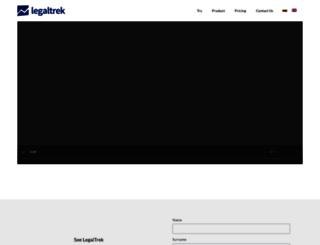 legaltrek.com screenshot