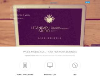 legendary-studio.com screenshot