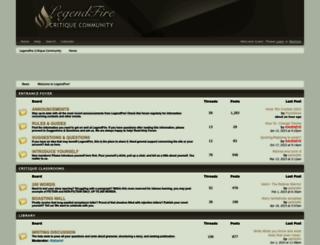 legendfire.com screenshot
