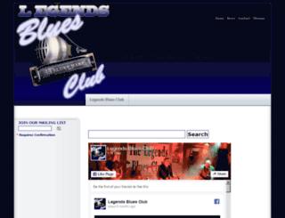 legendsbluesclub.co.uk screenshot