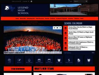 legendtitans.org screenshot